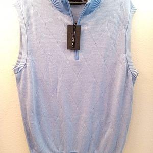 Bobby Jones Men's 1/4 Zipper Pullover Vest